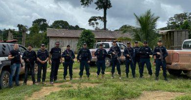 Polícias Civil e Militar deflagraram operação Céu Azul na zona rural de Rurópolis