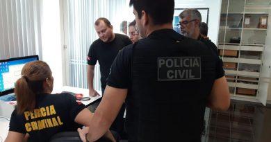 Cerpasa é alvo de busca e apreensão da Polícia Civil