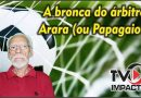 Vídeo – A bronca do árbitro Arara(ou Papagaio?)