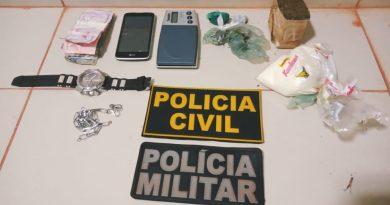 POLÍCIAS CIVIL E MILITAR DESARTICULAM TRÁFICO DE DROGAS EM RURÓPOLIS