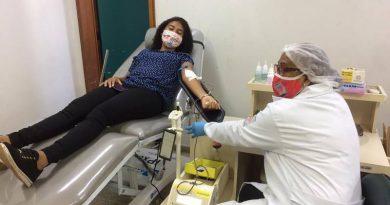 Doação de sangue mobiliza a juventude de Santarém