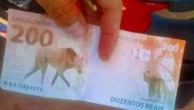 Nota falsa de R$ 200 já circula: aprenda a identificar a cédula verdadeira
