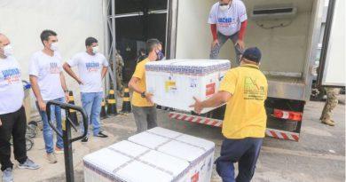 Segunda leva de vacinas contra Covid-19 chega ao Pará