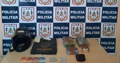 PM prende homem transportando drogas em embarcação de Santarém