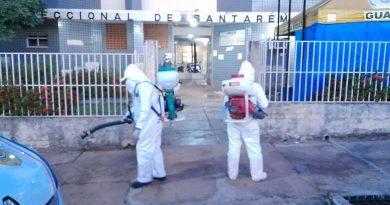 Na Seccional de Santarém, 05 delegados, 01 investigador e 01 escrivão estão com o corona vírus