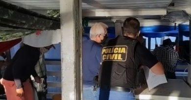 Polícia Civil orienta e fiscaliza embarcações na cidade de Santarém