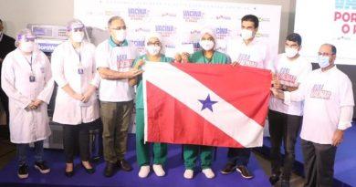 Profissionais de saúde de Belém e Ananindeua são os primeiros vacinados no Pará