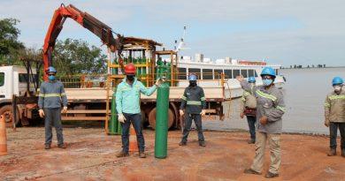 Alcoa supera desafios logísticos para abastecer com oxigênio os hospitais de Juruti