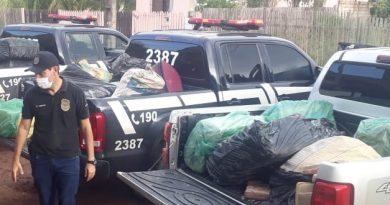 Polícia Civil de Santarém prende traficante e tira de circulação grande quantidade de entorpecente