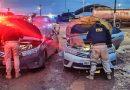 Em Itaituba, PRF apreende veículo com sinais de identificação adulterados