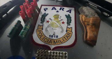 Operação de fiscalização da Rocam encontra armas e munições  em Altamira