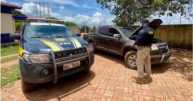 PRF recupera veículos roubados em Trairão e Rurópolis