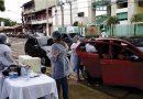 Sistema de vacinação Drive Thru imunizou 2.194 contra a covid-19 em Santarém