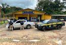 PRF apreende em Santarém caminhonete furtada no município de Redenção
