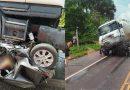 Preso pela PC motorista do caminhão que esmagou carro com 5 pessoas