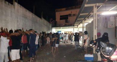 Com mais de 200 pessoas, festa clandestina é encerrada pela Vigilância Sanitária e Polícia Militar em Santarém