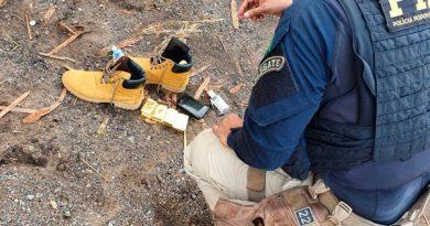 Homem é preso no Pará após ser flagrado com 5 quilos de ouro de origem ilegal escondidos em botas