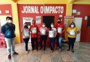 Equipe do O Impacto recebe kits de proteção da DRTAp-Sinjor/PA na campanha #ComSaudeAlegriaSemCorona