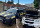 PRF apreende veículo com ocorrência de roubo e uso de documento falso em Itaituba