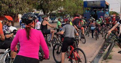 Passeio ciclístico e nova sinalização viária marcam a semana do trânsito em Santarém